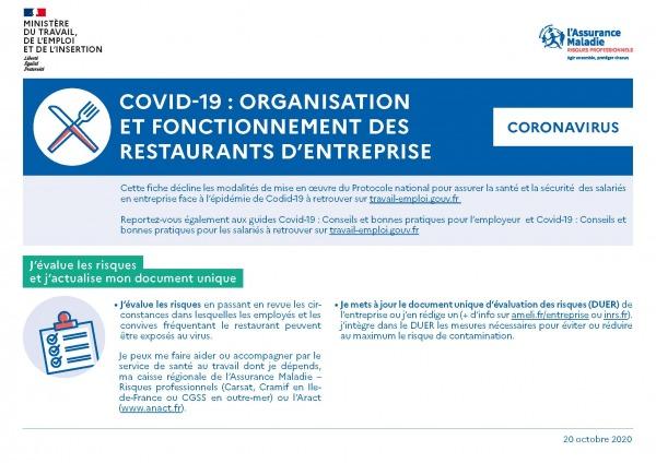 Covid-19 - Le ministère complète les guides de conseils et bonnes pratiques au travail