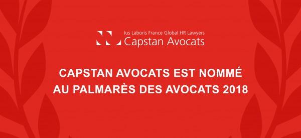 Capstan Avocats aux trophées du droit : votez pour nous !